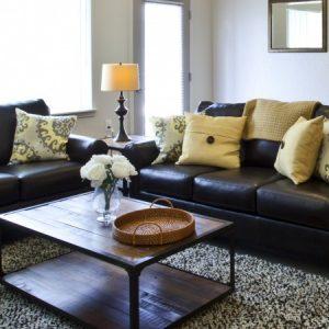 Model living room